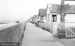 St Osyth, Point Clear Bay Promenade c.1955