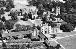 St Osyth, Priory From The Air c.1960