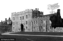 St Osyth, Priory Gate 1891
