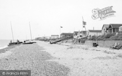 St Osyth, The Beach c.1955