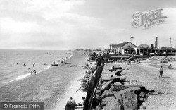 St Osyth, The Beach c.1965