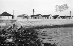 St Osyth, The Beach, Point Clear Bay c.1960