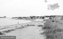 St Osyth, The Beach, Point Clear c.1955