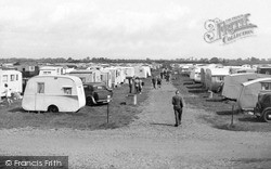 St Osyth, The Caravan Camp c.1955