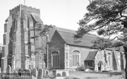 St Osyth, The Church c.1955