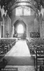 St Osyth, The Church Interior c.1955