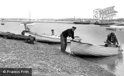 St Osyth, The Ferry, Point Clear Bay c.1955