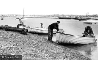 St Osyth, the Ferry, Point Clear Bay c1955