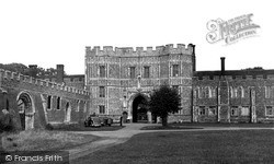 St Osyth, The Priory Gateway c.1955