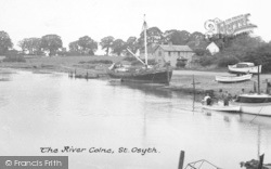 St Osyth, The River Colne c.1955