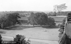 St Osyth, View From The Priory Tower c.1955
