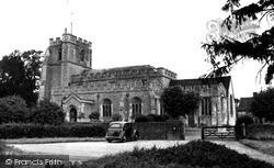 St Paul's Walden, All Saints' Church c.1950