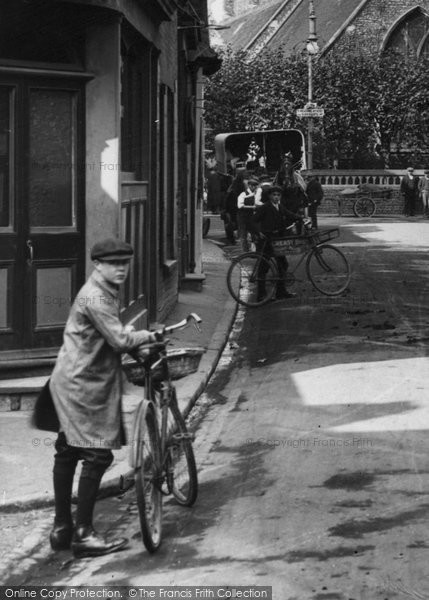 Photo of St Peter's, A Delivery Bicycle 1912 - Francis Frith