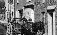 St Peter's, Horse And Cart 1912