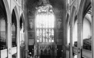 St Peter's, The Church, Interior 1897