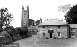 St Stephen, The Church And Queen's Head Hotel c.1960