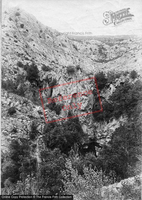 Photo of St Vallier, Pont Du Diable 1890