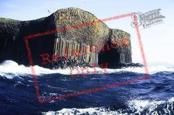 Columular Basalt Cliffs And Fingal's Cave c.1995, Staffa