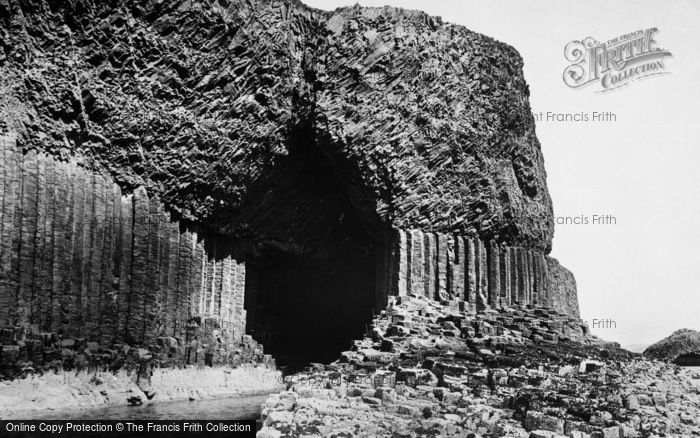 Photo of Staffa, Fingal's Cave 1903