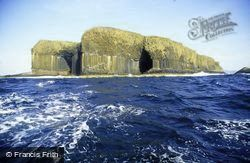 The Basalt Cliffs And Fingal's Cave c.1995, Staffa