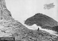The 'herdsman' c.1895, Staffa