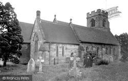 Stafford, Castle Church c.1955