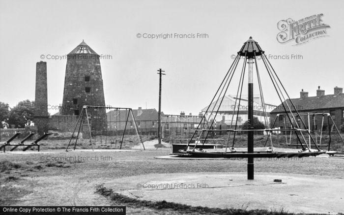 Stafford, Childrens Park and Old Mill c1955
