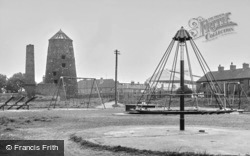 Stafford, Children's Park And Old Mill c.1955