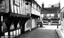 Church Lane c.1965, Stafford