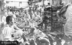 Stafford, Finishing Room, Mason & Marson Shoe Factory 1926