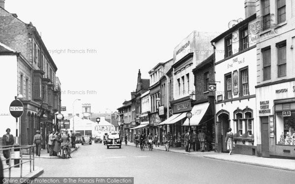 Stafford, Gaolgate Street c1955