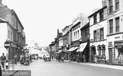 Stafford, Gaolgate Street c.1955