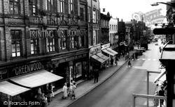 Greengate Street c.1960, Stafford