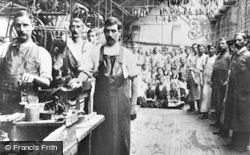Stafford, Lasting Room, Mason & Marson Shoe Factory 1926