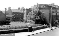 Library Gardens c.1955, Stafford