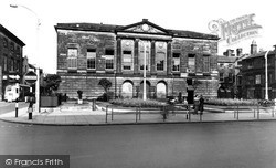 Market Square And The Shire Hall c.1955, Stafford