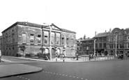 Stafford, Market Square c1955