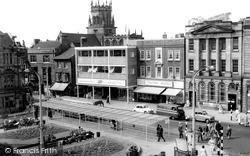Market Square c.1960, Stafford