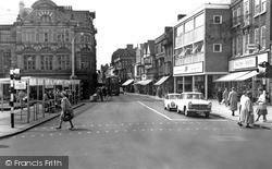 Stafford, Market Square c.1960