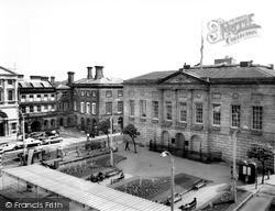 Stafford, Market Square c.1965