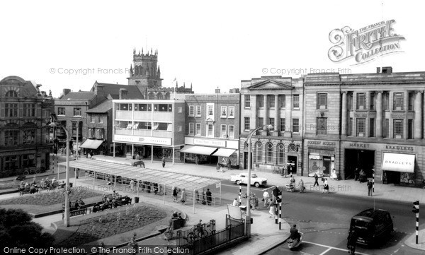 Stafford, Market Square c1965