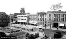 Market Square c.1965, Stafford