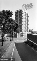 Stafford, Pennycrofts Court c.1970