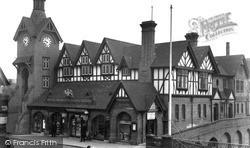 Stafford, Royal Brine Baths c.1950