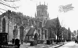 Stafford, St Mary's Church c.1950