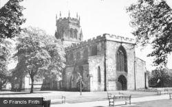 Stafford, St Mary's Church c.1955