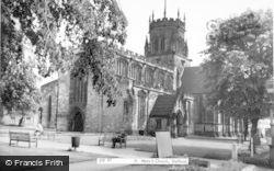 Stafford, St Mary's Church c.1965