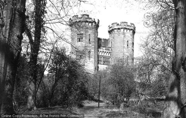Stafford, the Castle c1950