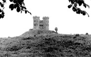 Stafford, the Castle c1955