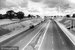 The M6 Motorway c.1965, Stafford